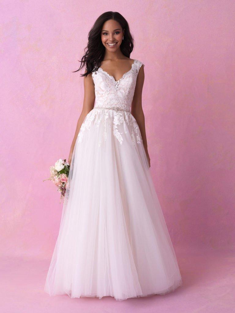 Allure bridal look 10