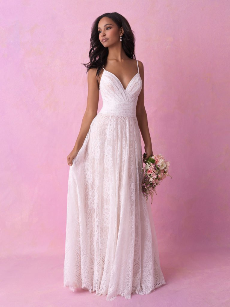 Allure bridal look 2