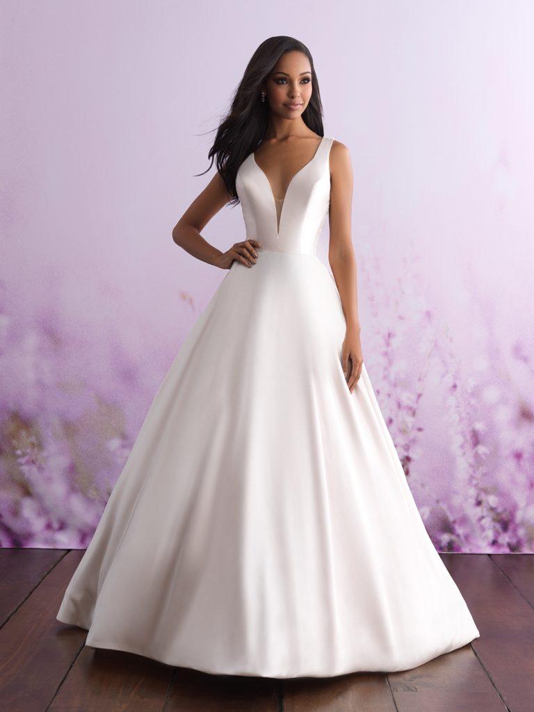 Allure bridal look 4