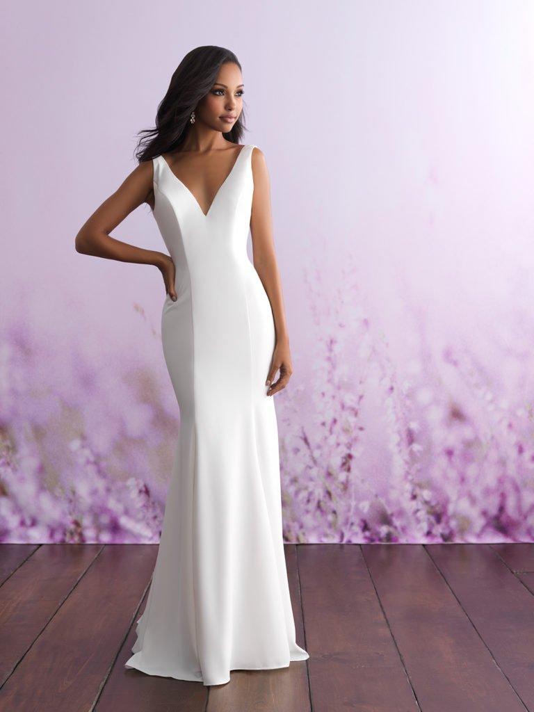Allure bridal look 5