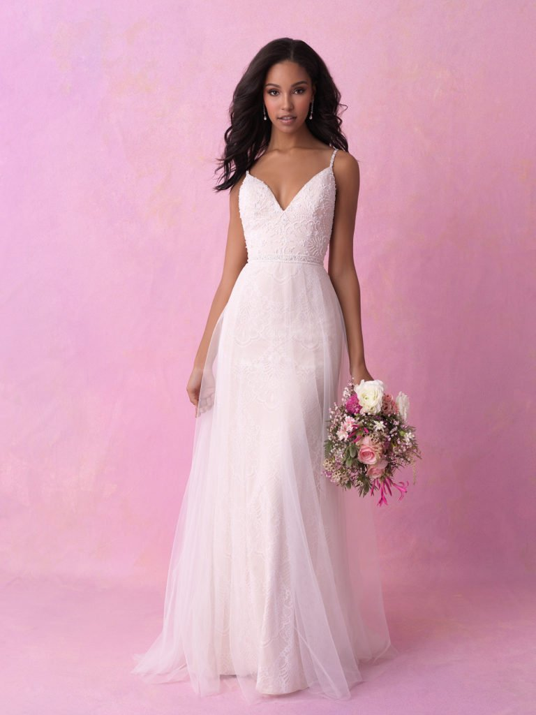 Allure bridal look 3
