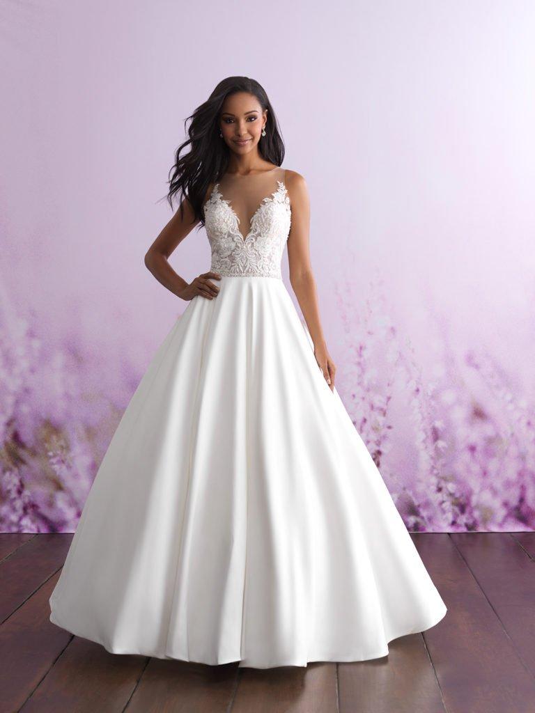 Allure bridal look 7