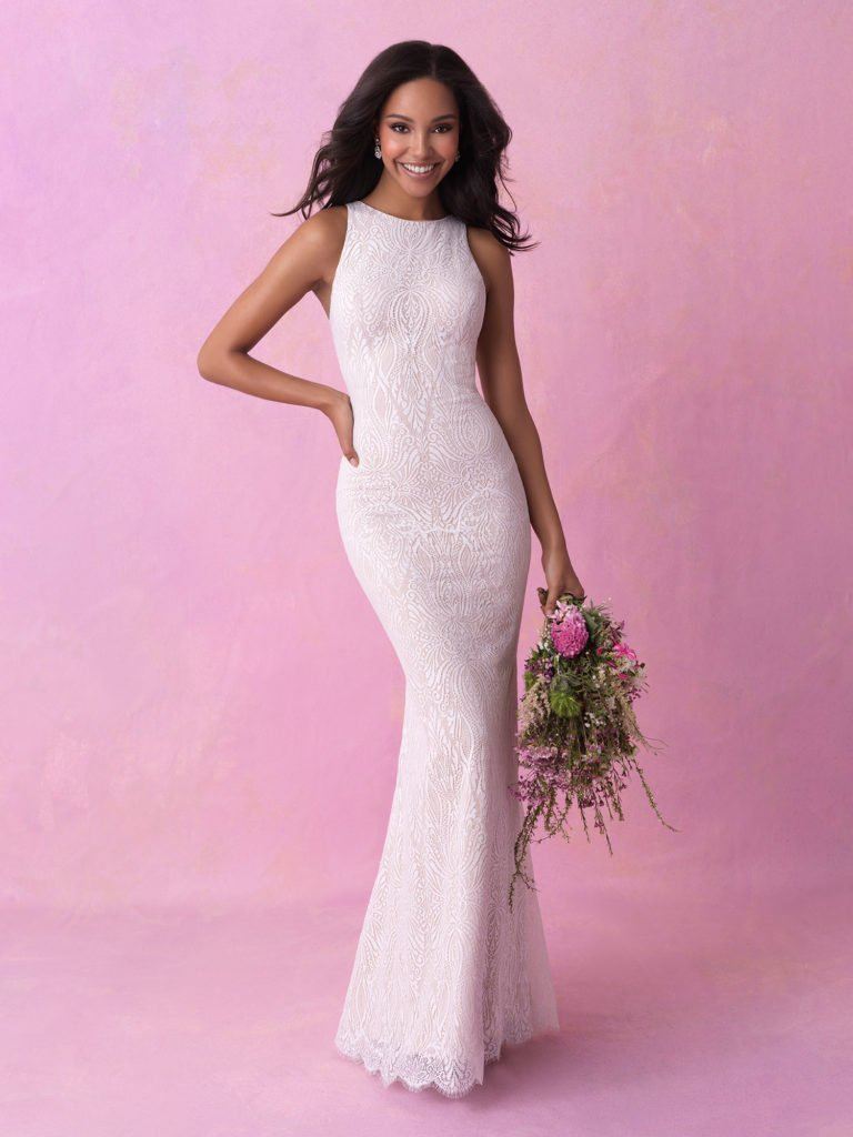 Allure bridal look 9