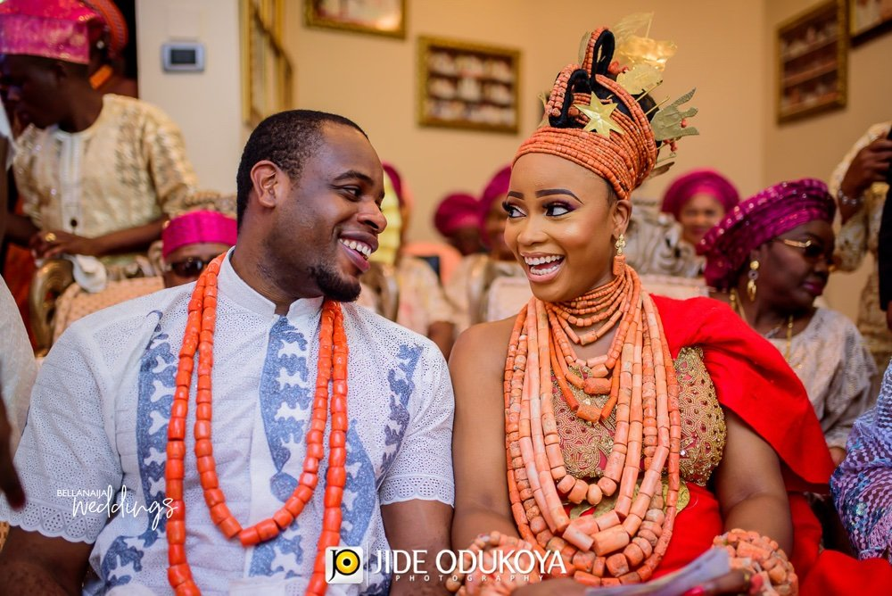 Nosa And Ekan S Colourful Edo Traditional Wedding