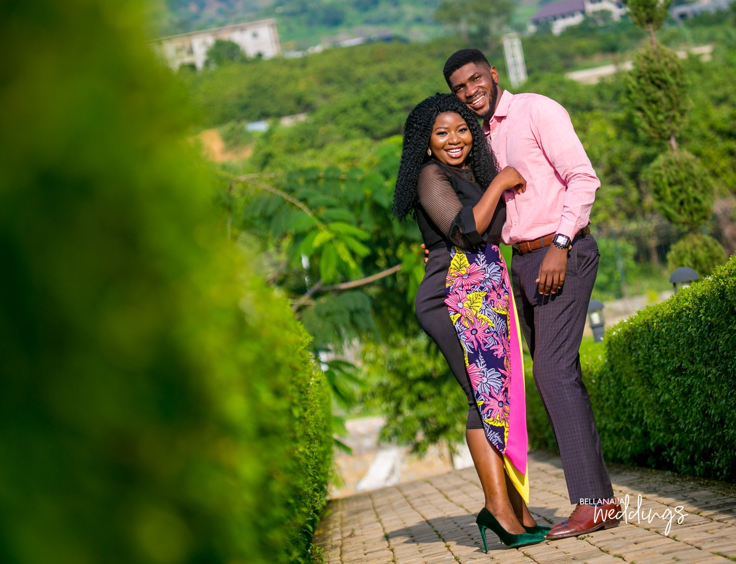 BBN Wonderland Proposal Couple Lizzy & Femi's Pre-Wedding Shoot + Love Story!