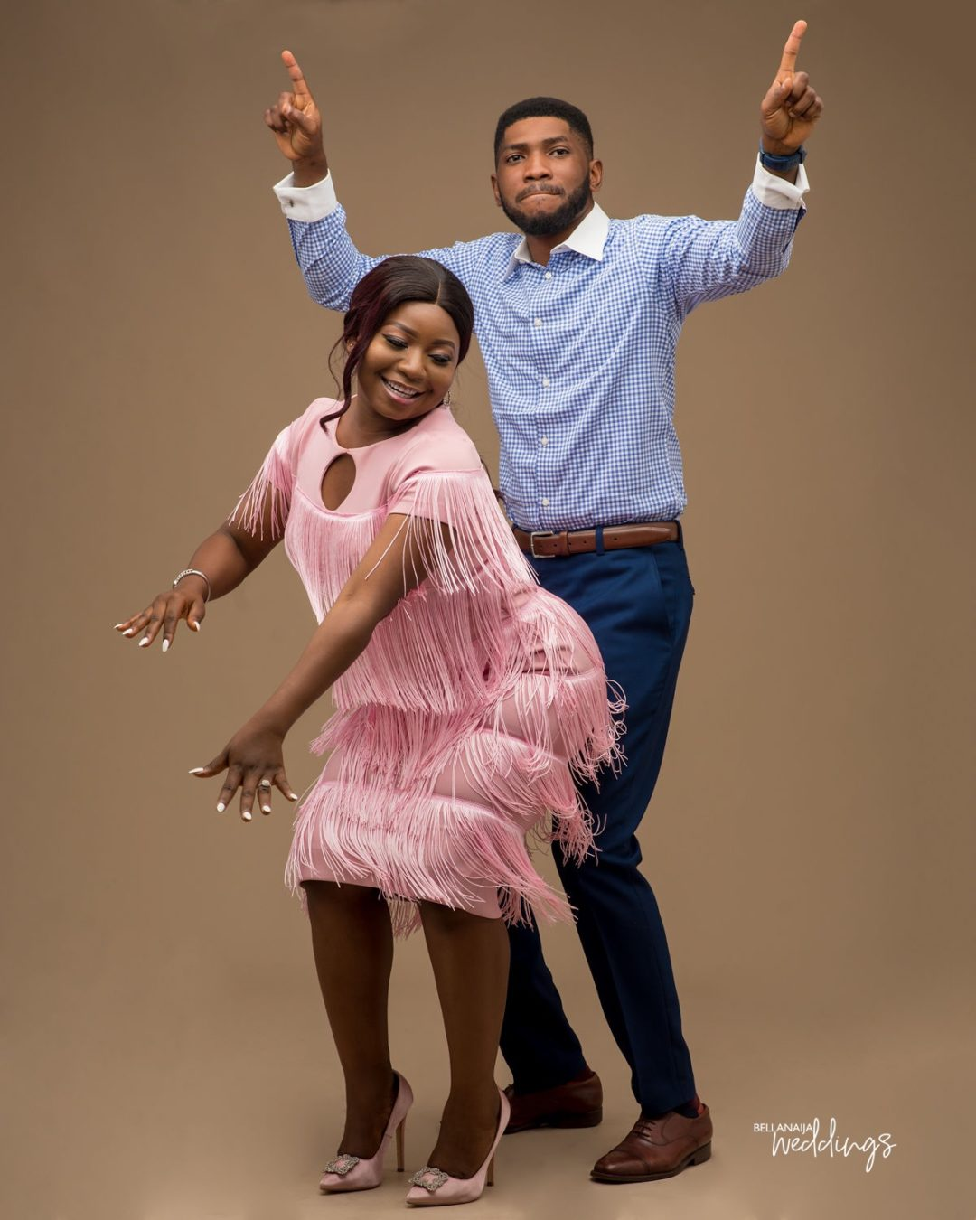 BBN Wonderland Bride-to-be And Femi's Pre-wedding Shoot