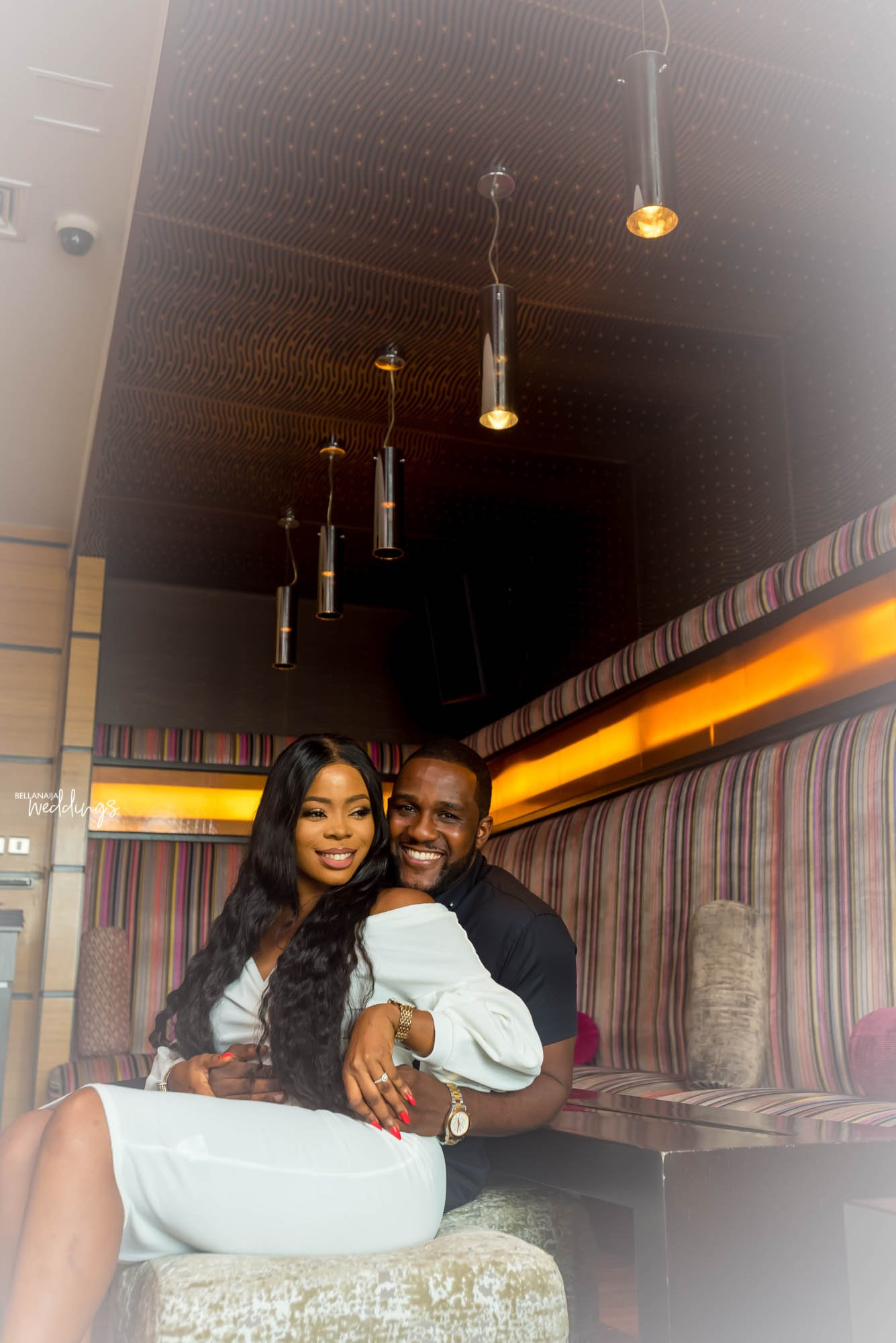 They Met During NYSC! Odion & Oriwo's Pre-Wedding Shoot + Love Story!