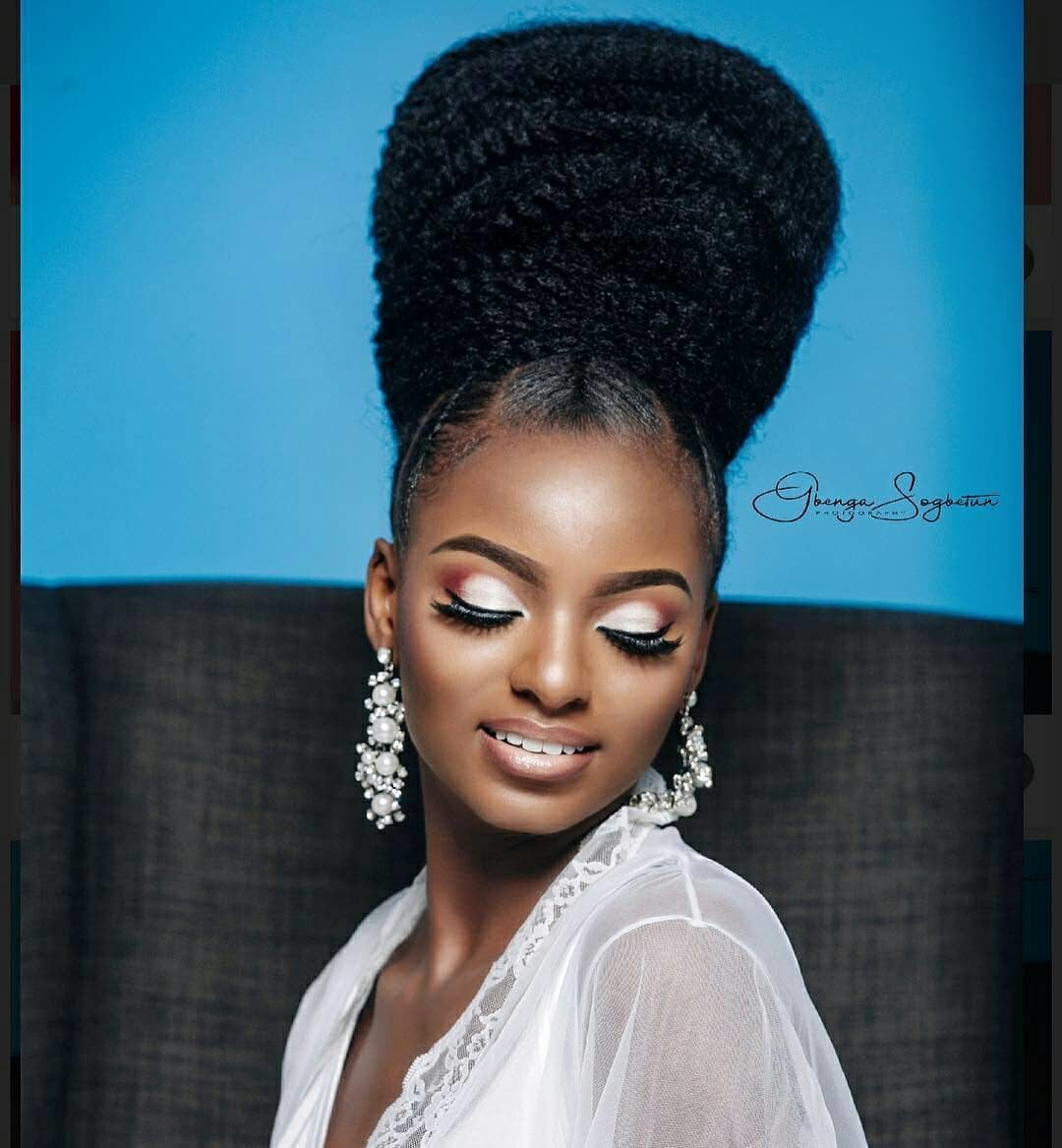 Big Wedding Hair: This Beauty Look With A Big Bun Is Just Right For A