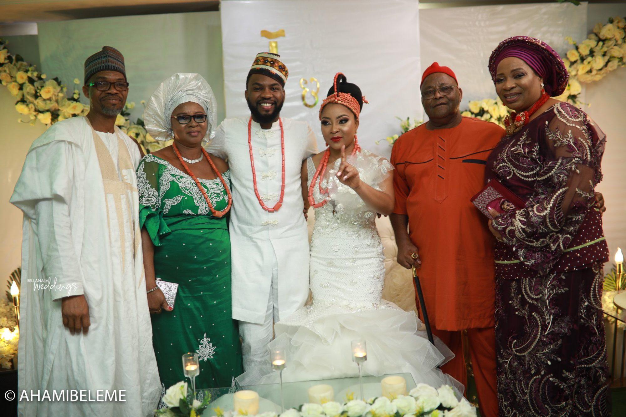 Linda Ejiofor Amp Ibrahim Suleiman S Traditional Wedding Had