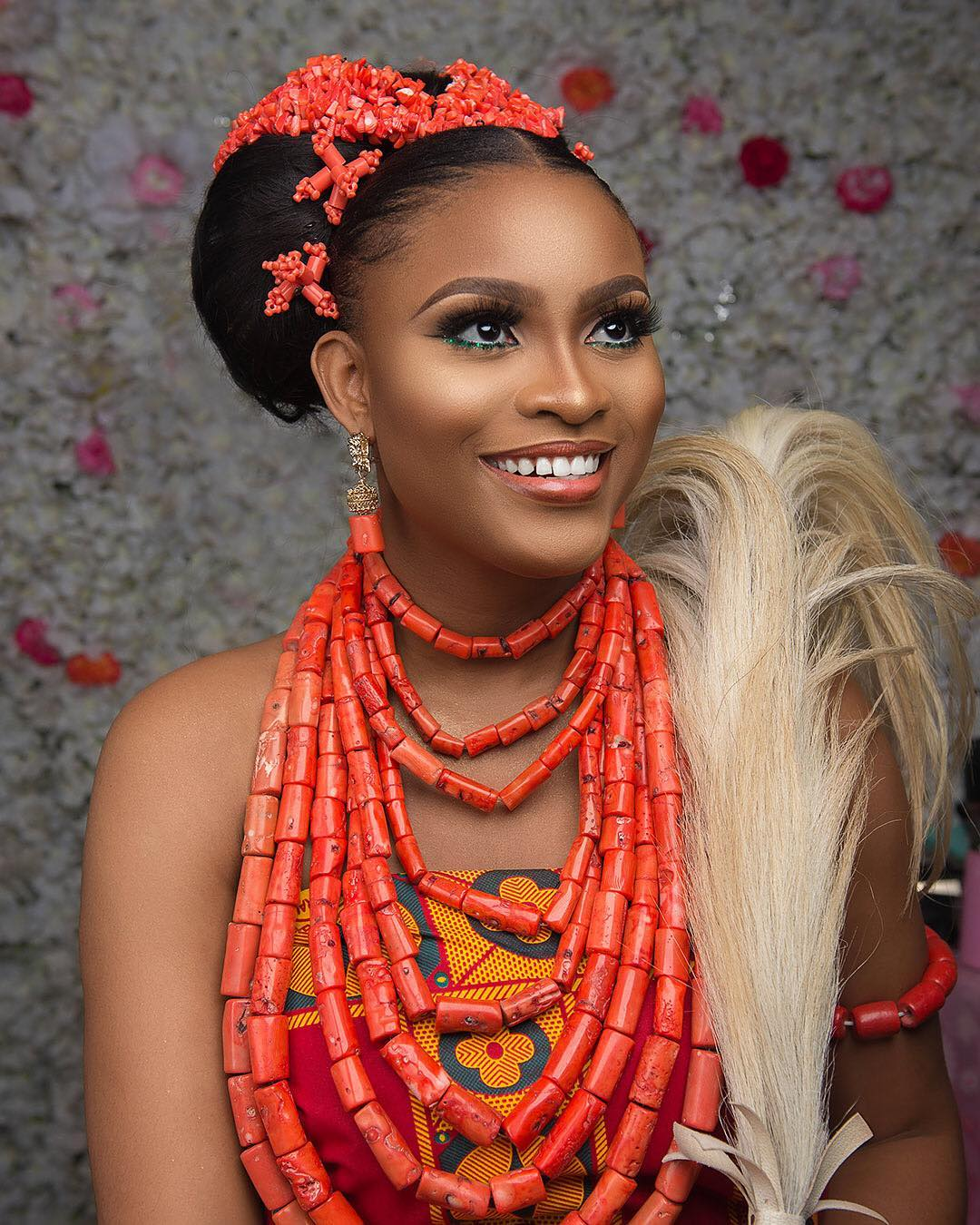 Weddings Beauty And Attire: Igbo Brides Need To See This Bridal Beauty!
