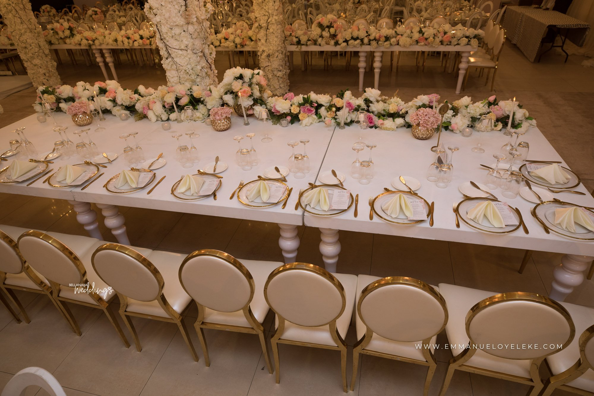 Elegant Reception Decorations Beautiful Naija Weddings