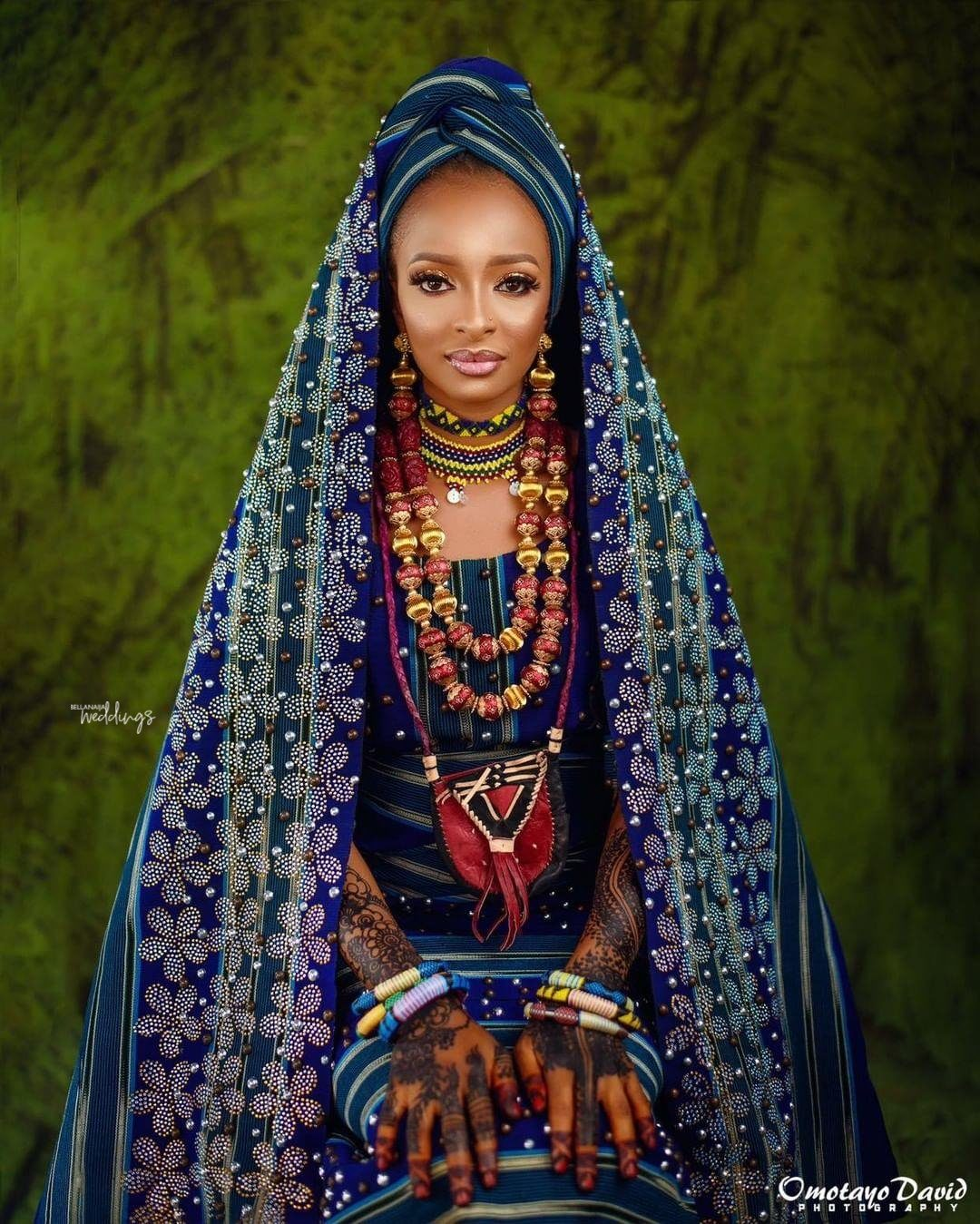 We Can't Get Enough Of The Work Of Art On This Fulani