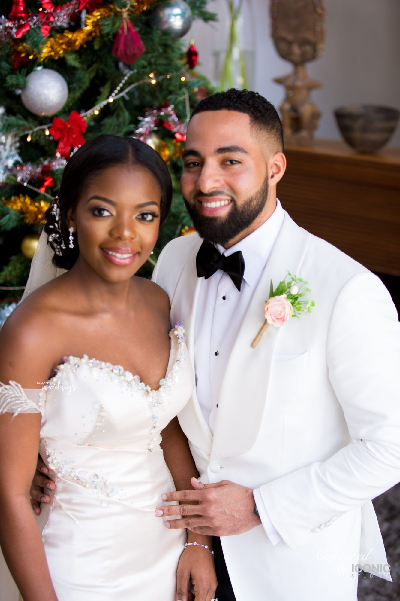 From Stealing Glances at Each Other to Forever Love! Novisi & Antonio's Ghanaian Wedding Ceremony