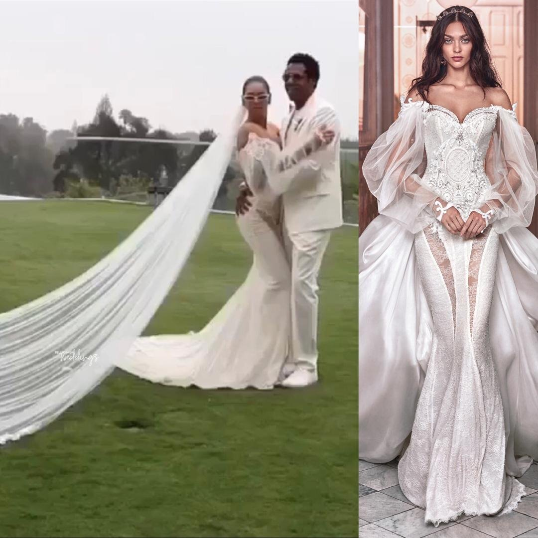 Here's The Dress Beyonce Wore For Her Secret Vow Renewal