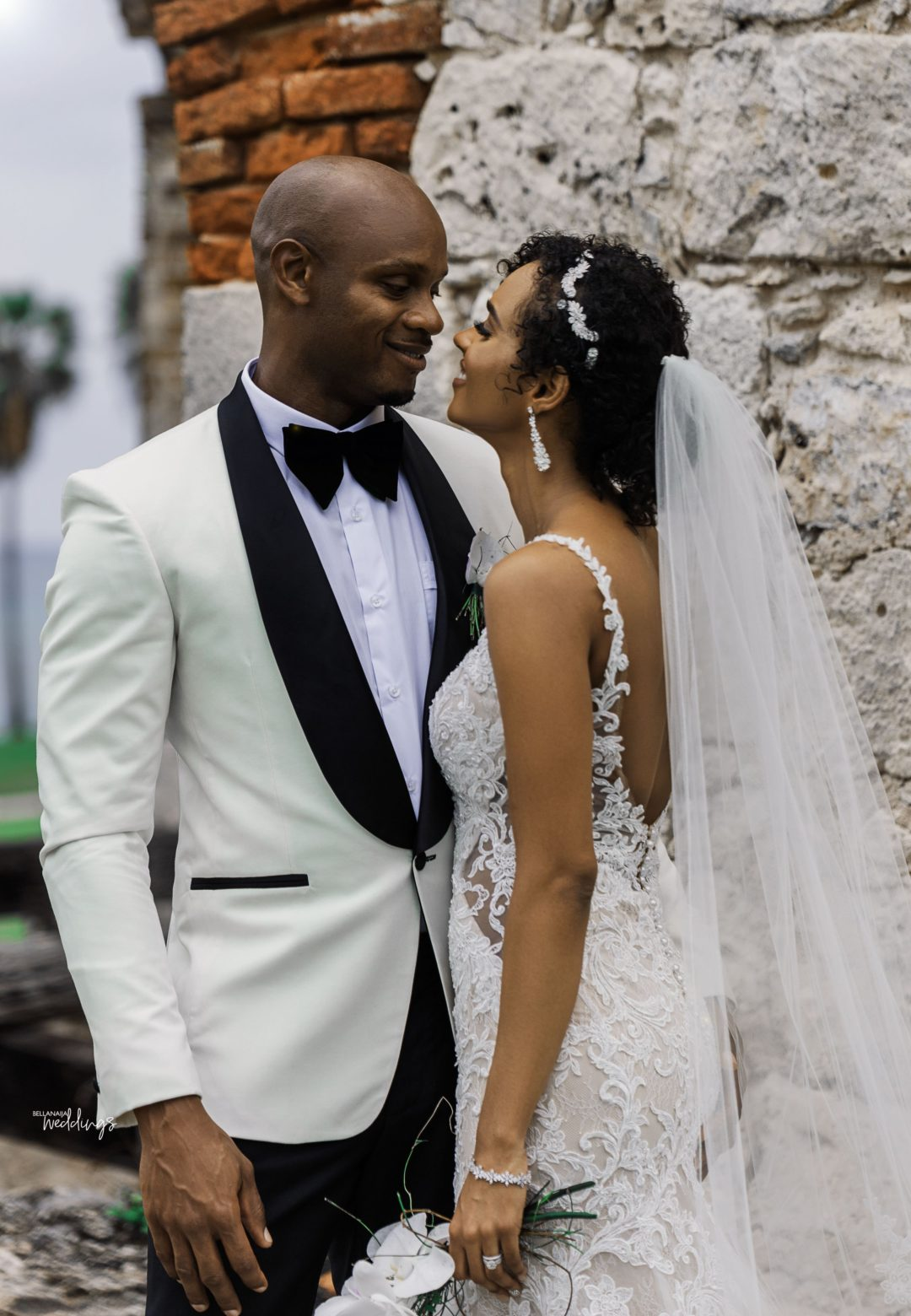 Asafa Powell with endearing, Wife Alysia Miller