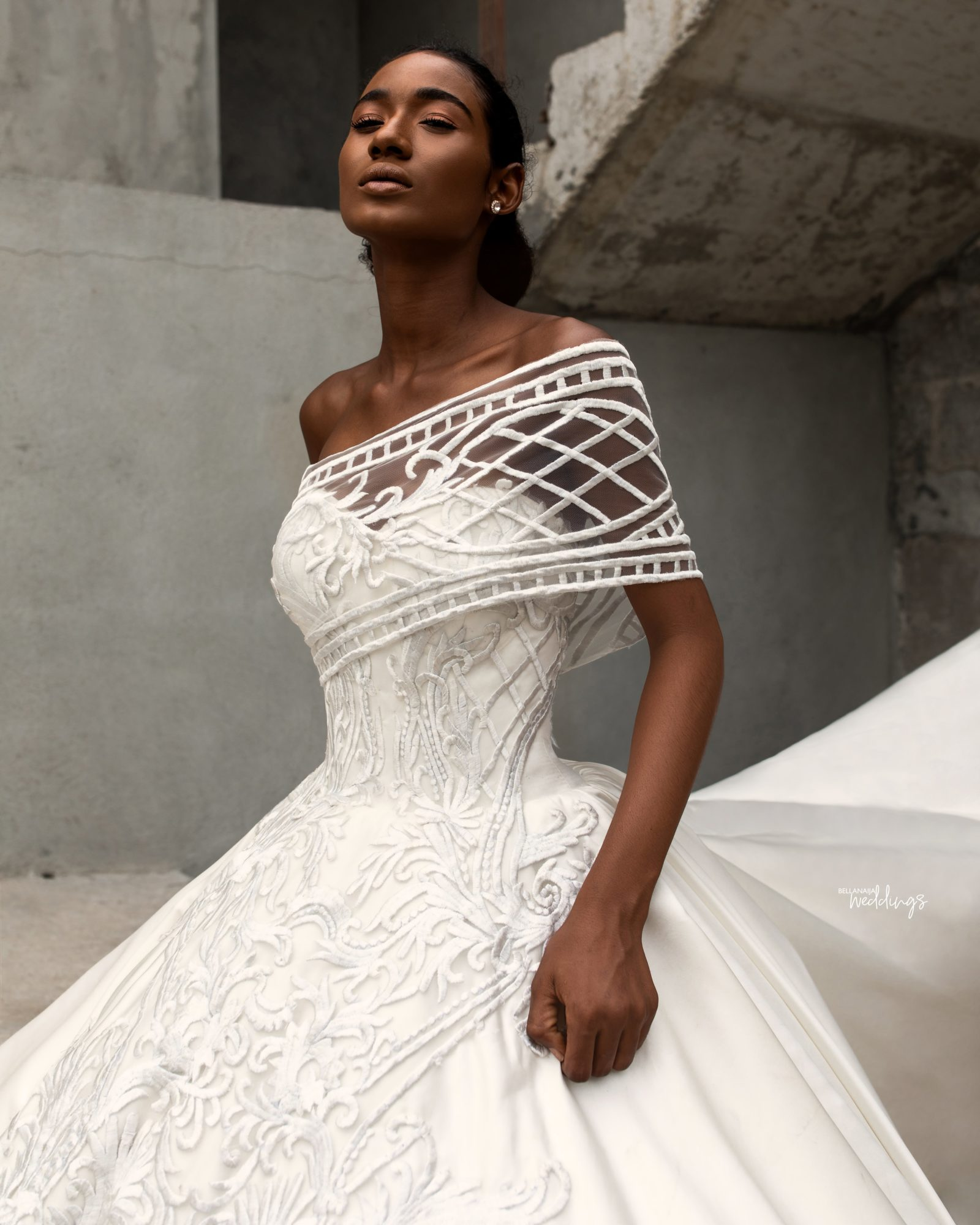 The Bridal Collection Real Bride: We Can't Help But Love This Andrea Iyamah Bridal Collection