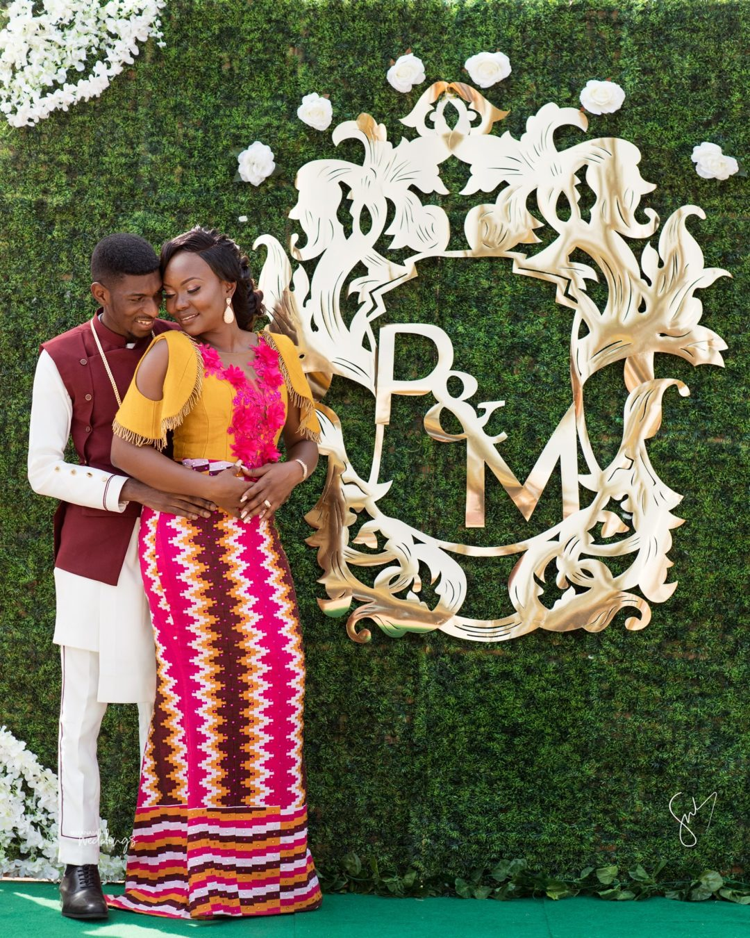 Ghanaian Traditional Wedding: With Love From Ghana! See Menisima & Phillip's Traditional