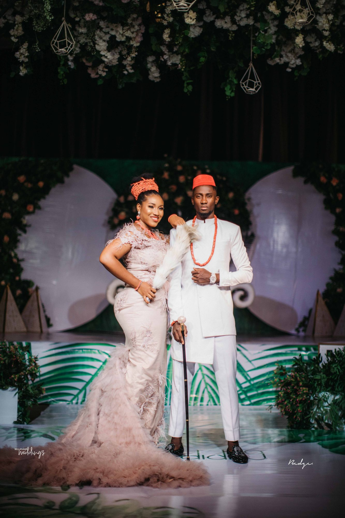 Football Player Ndidi And His Love Chidinma S Traditional