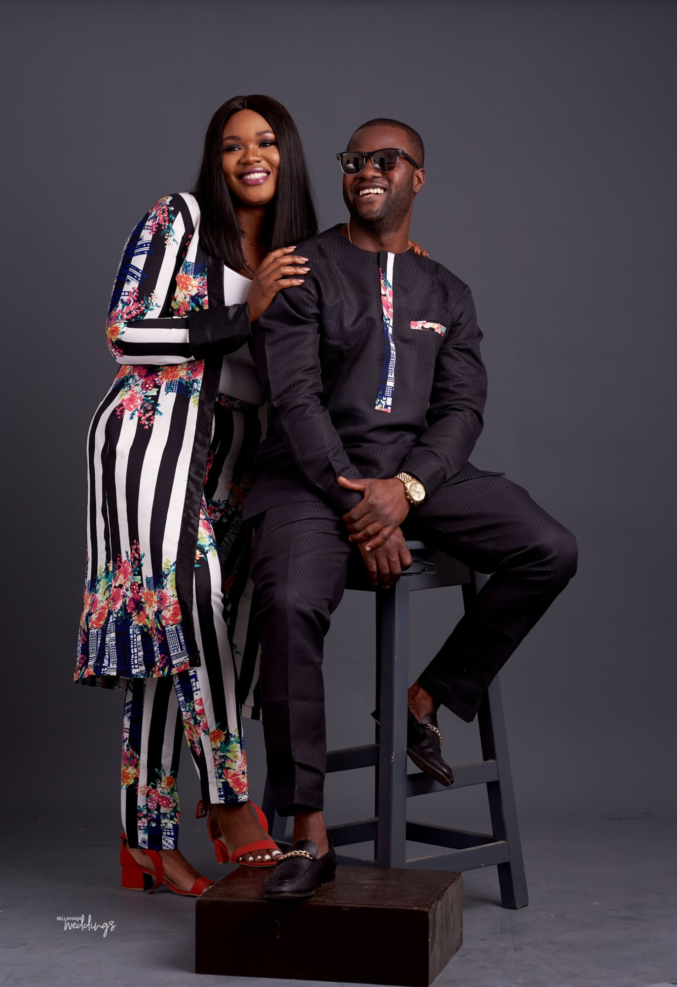 It all Started with a Search for Food! Timofe & Oludare's Pre-wedding Shoot + Love Story