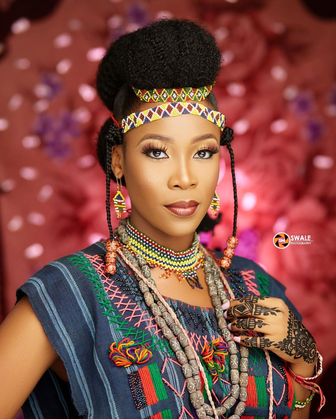 Need Bridal Hair Inspiration We Have You Covered: This Fulani Bridal Look Is Worth Rocking On Your Big Day