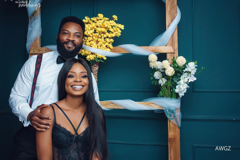 We've Become Inseparable! Buogo & Tolu's Fun Pre-wedding Shoot + Love Story