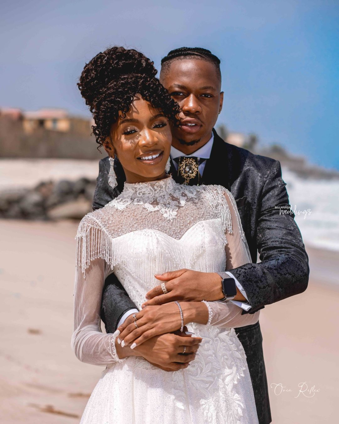 15 Outdoor Wedding Ideas That Are Totally Genius: Ultimate Love Stars Theresa & Iyke Are Totally Giving Us
