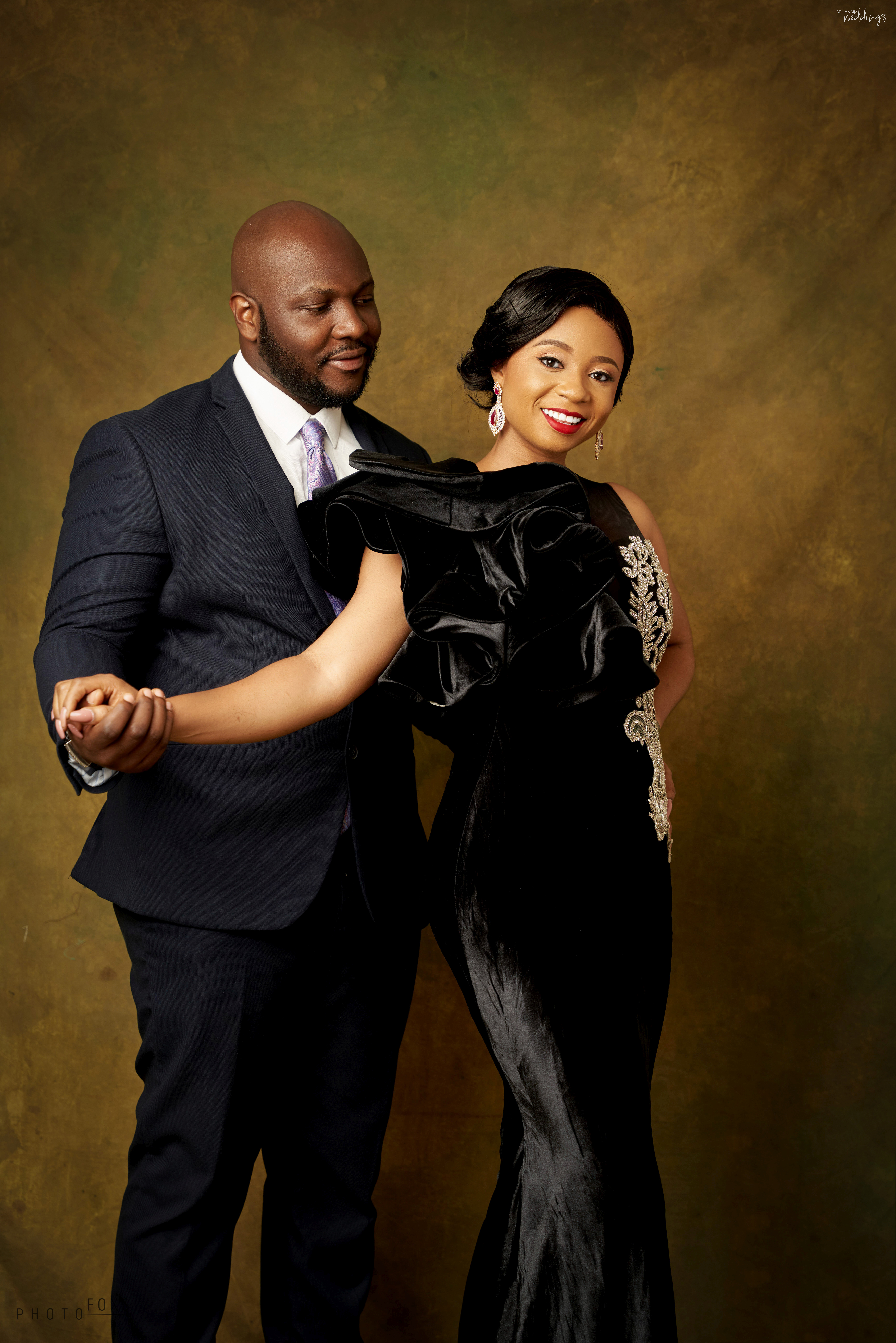 They Met at a JAMB Tutorial! Patience & Tunde... Image